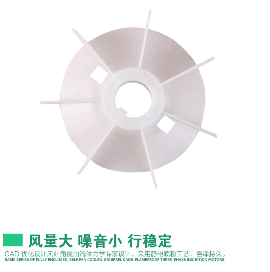 YS63风叶型号电机安装和尺寸与外形尺寸图5