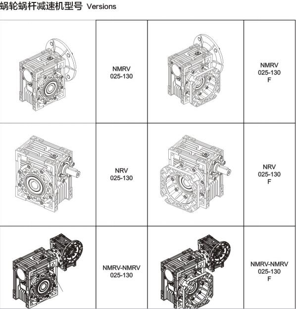 NMRV040型号电机图文展示图2