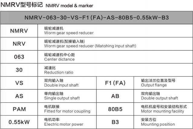 NMRV040型号电机图文展示图6