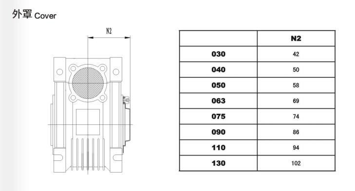 NMRV040型号电机图文展示图33